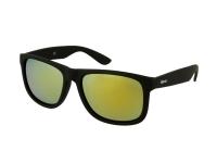 alensa.at - Kontaktlinsen - Sonnenbrille Alensa Sport Black Gold Mirror