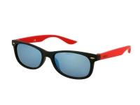alensa.at - Kontaktlinsen - Kinder Sonnenbrille Alensa Sport Black Red Mirror