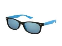 alensa.at - Kontaktlinsen - Kinder Sonnenbrille Alensa Sport Black Blue Mirror