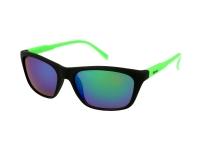 alensa.at - Kontaktlinsen - Damen Sonnenbrille Alensa Sport Black Green Mirror
