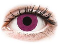 alensa.at - Kontaktlinsen - ColourVUE Crazy Lens - Purple - ohne Stärke