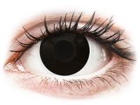 alensa.at - Kontaktlinsen - ColourVUE Crazy Lens - BlackOut - mit Stärke