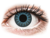 alensa.at - Kontaktlinsen - ColourVUE Crazy Lens - Solar Blue - mit Stärke