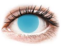 alensa.at - Kontaktlinsen - ColourVUE Crazy Glow Electric Blue - ohne Stärke