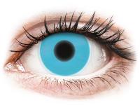 alensa.at - Kontaktlinsen - ColourVUE Crazy Glow Blue - ohne Stärke