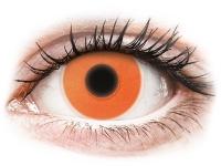 alensa.at - Kontaktlinsen - ColourVUE Crazy Glow Orange - ohne Stärke
