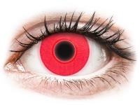 alensa.at - Kontaktlinsen - ColourVUE Crazy Glow Red - ohne Stärke