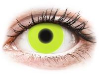 alensa.at - Kontaktlinsen - ColourVUE Crazy Glow Yellow - ohne Stärke
