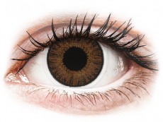 TopVue Color Tageslinsen - Brown - mit Stärke (10Linsen)