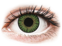 alensa.at - Kontaktlinsen - TopVue Color Tageslinsen - Green - mit Stärke