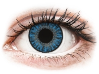 alensa.at - Kontaktlinsen - TopVue Color Tageslinsen - Sapphire Blue - ohne Stärke