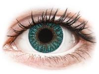 alensa.at - Kontaktlinsen - TopVue Color - Turquoise - ohne Stärke