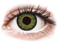 alensa.at - Kontaktlinsen - ColourVUE Glamour Green - ohne Stärke