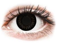 alensa.at - Kontaktlinsen - ColourVUE BigEyes Dolly Black - mit Stärke