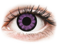 alensa.at - Kontaktlinsen - ColourVUE BigEyes Ultra Violet - ohne Stärke