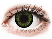 alensa.at - Kontaktlinsen - ColourVUE BigEyes Party Green - ohne Stärke