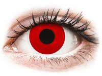 alensa.at - Kontaktlinsen - ColourVUE Crazy Lens - Red Devil - Tageslinsen ohne Stärke