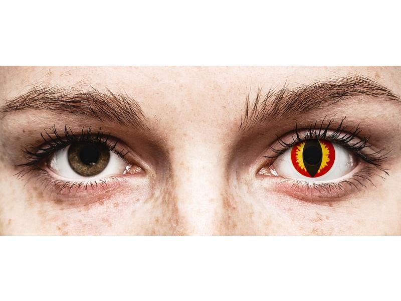 Colourvue Crazy Lens Dragon Eyes Tageslinsen Ohne Stärke 2 Linsen