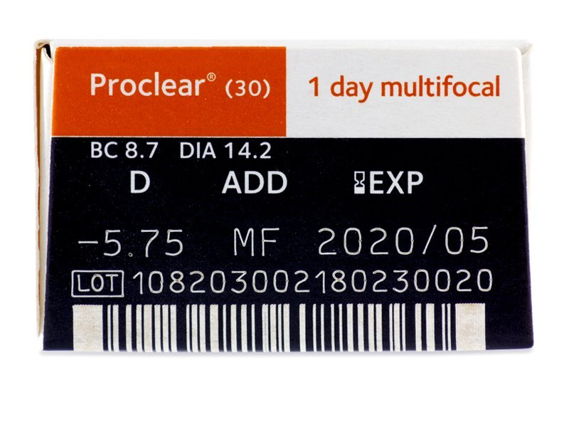 Proclear 1 Day multifocal (30Linsen)