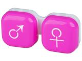 alensa.at - Kontaktlinsen - Behälter man&woman - rosa