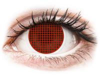 alensa.at - Kontaktlinsen - ColourVUE Crazy Lens - Red Screen - ohne Stärke