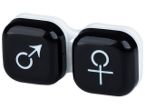 alensa.at - Kontaktlinsen - Behälter man&woman - schwarz