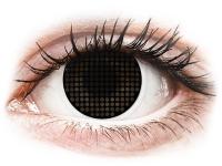 alensa.at - Kontaktlinsen - ColourVUE Crazy Lens - Black Screen - ohne Stärke