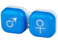 alensa.at - Kontaktlinsen - Behälter man&woman - blau