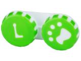 alensa.at - Kontaktlinsen - Behälter Pfote grün
