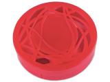 Kontaktlinsen-Etui - Ornament rot