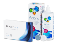TopVue Air (6 Linsen) + Gelone 360 ml