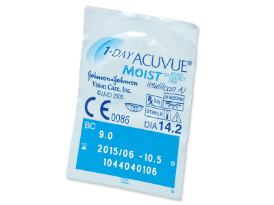 1 Day Acuvue Moist (180 Linsen)