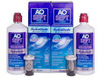 alensa.at - Kontaktlinsen - AO SEPT PLUS HydraGlyde 2 x 360 ml