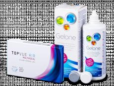 TopVue Air Multifocal (3 Linsen) + Gelone 360 ml