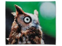 alensa.at - Kontaktlinsen - Brillenputztuch - Eule