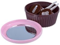 alensa.at - Kontaktlinsen - Kassette mit Spiegel Muffin - rosa